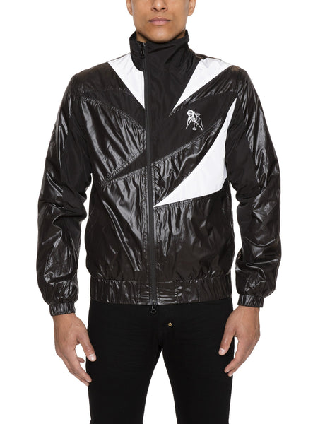 Pieced Track Jacket
