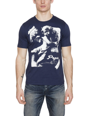 Photographic Printed Cherub Tee