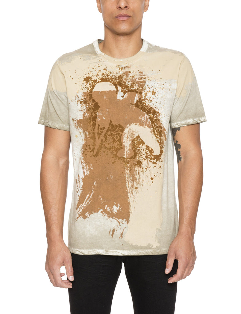 Brush Stroke Cherub Tee