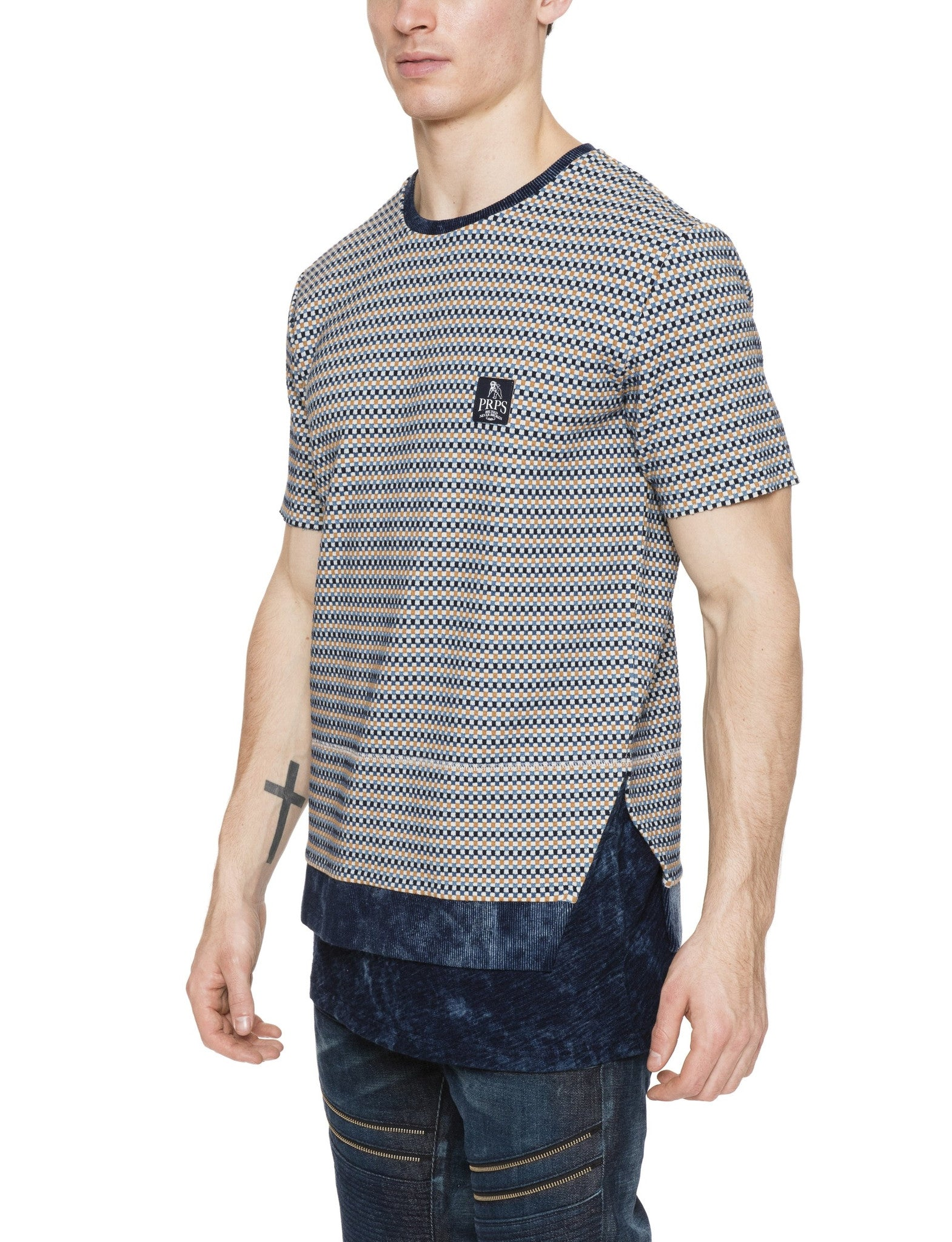 Interwoven Knit Tee