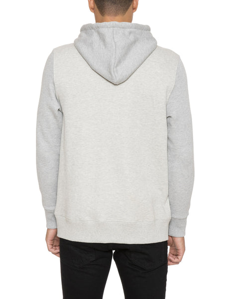 Pieced Pullover Hoodie