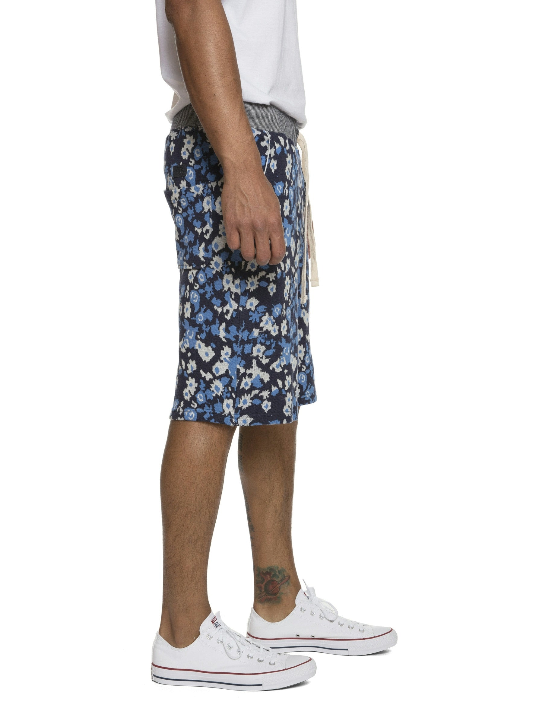 Floral Printed Board Short