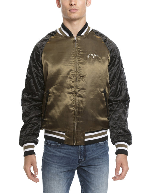 Prps | Embroidered Varsity Jacket - Jacket