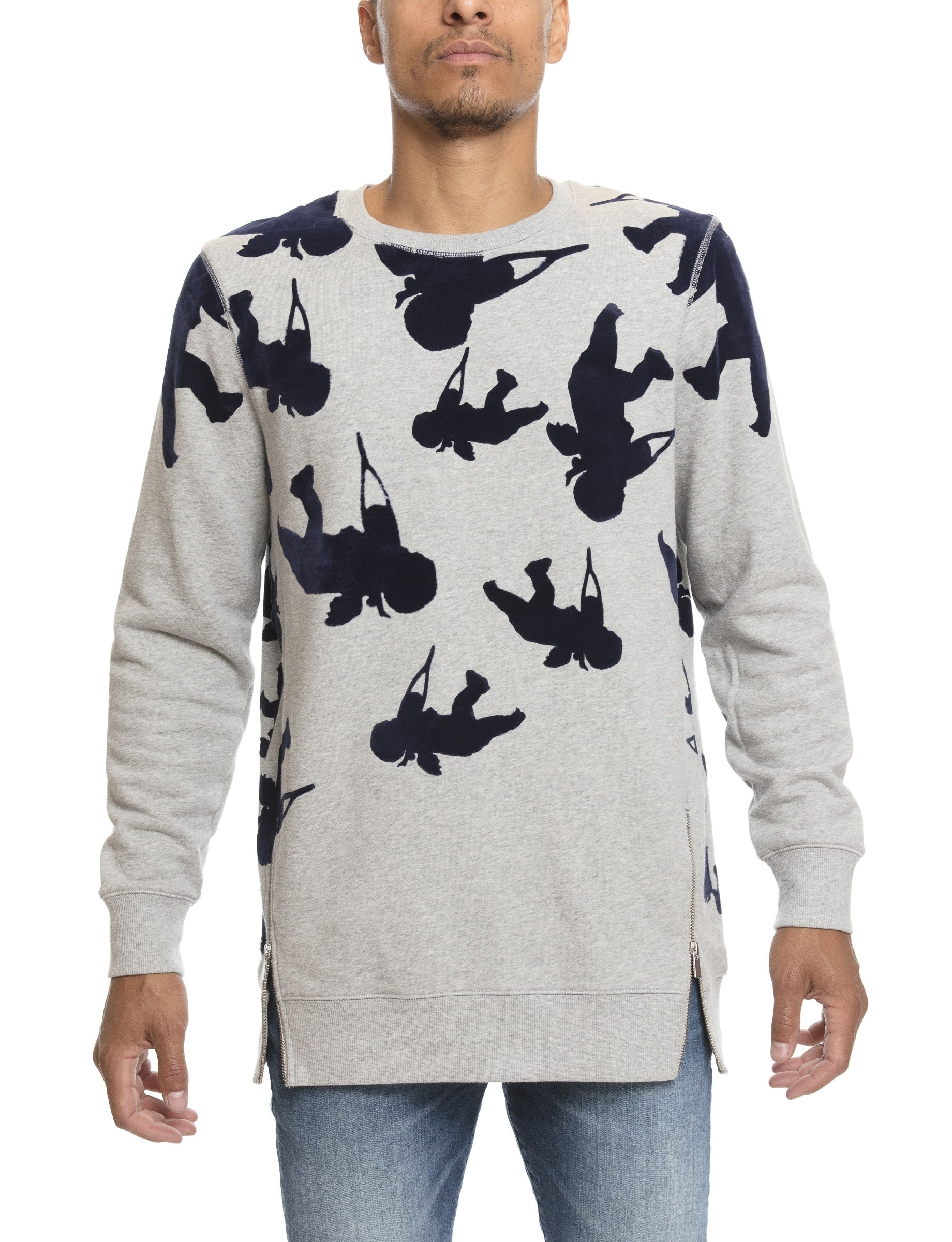 Prps | Allover Cherub Print Pullover - Hoodies & Sweaters