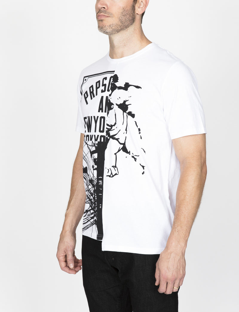 Prps - Mixed Graphic Tee - Tee - Prps