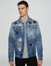 Star Patch Denim Jacket