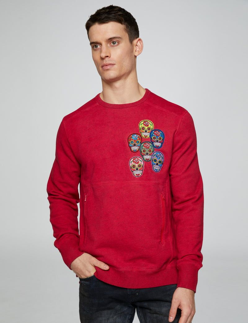 Prps - Skull Patch Pullover - Hoodies & Sweaters - Prps