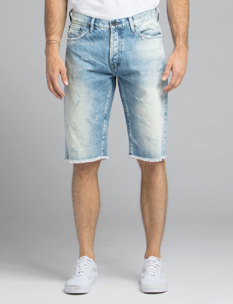 Light Wash Shorts
