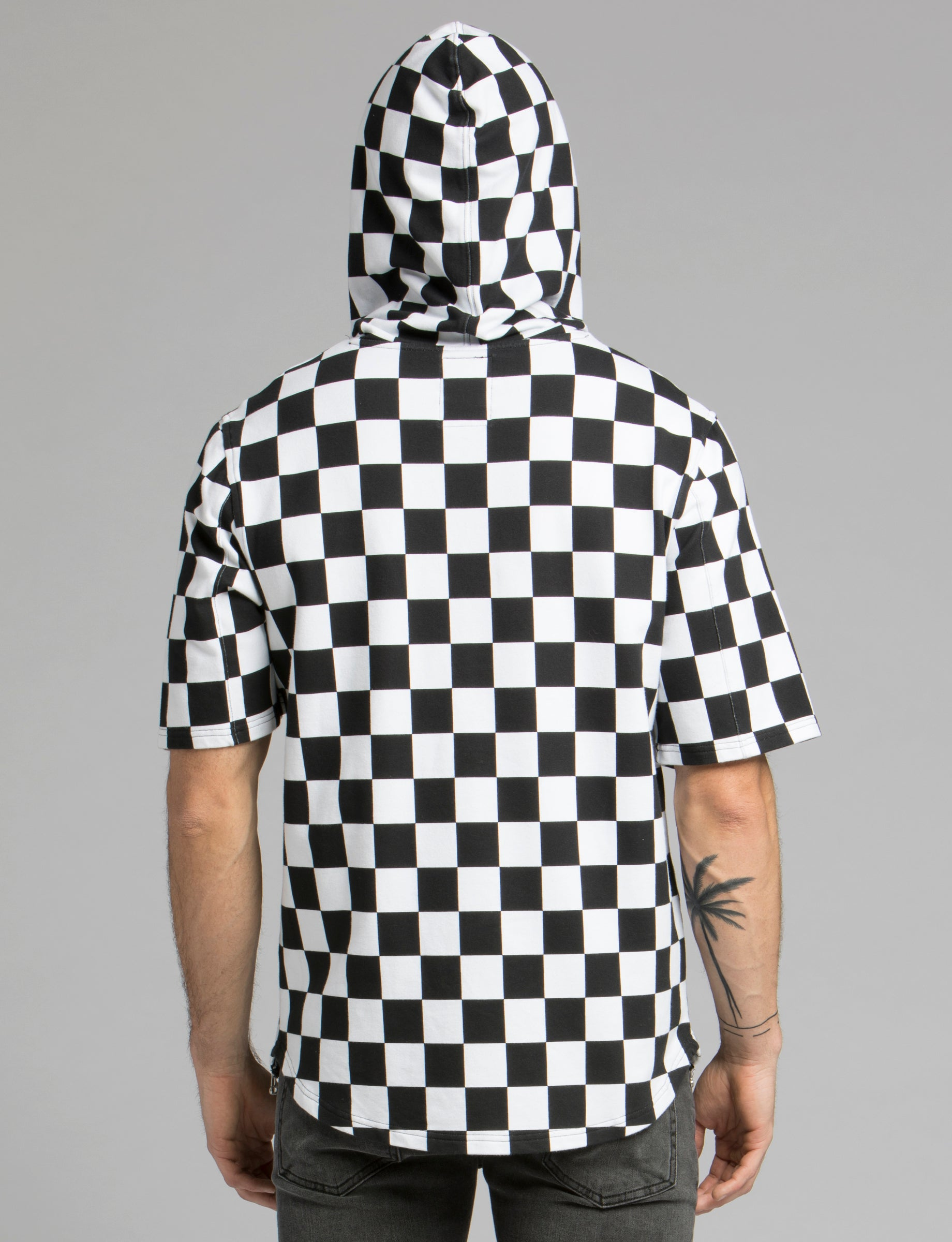 Prps - Checker Board Hoodied Pullover - Pullover