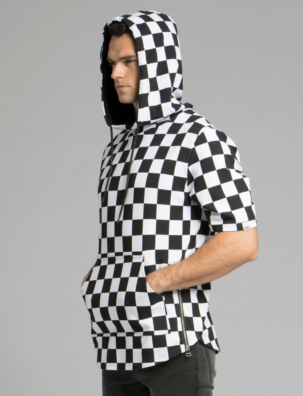 Prps - Checker Board Hoodied Pullover - Pullover - Prps