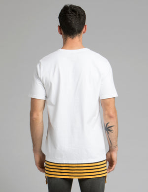 Long Side Zip Tee
