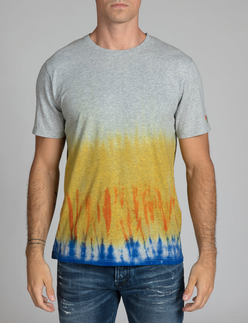Tie Dye Primary Color Prps Tee