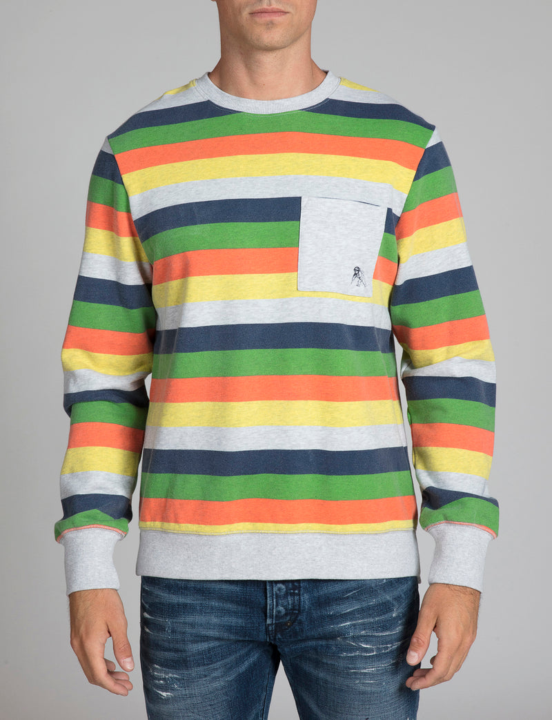 Prps - Striped Pullover - Hoodies & Sweaters - Prps