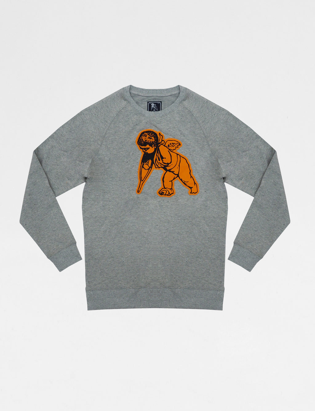 Prps - Cherub Applique Crewneck - Hoodies & Sweaters - Prps