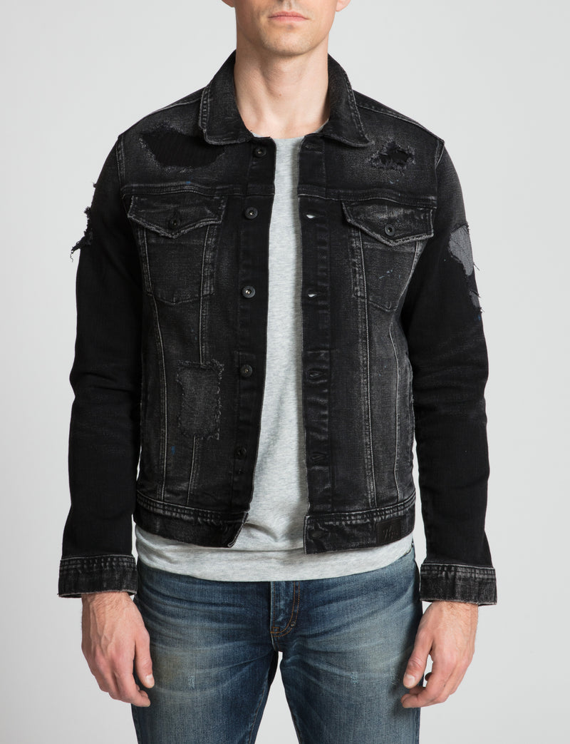 Prps - Ripped Denim Jacket - Jacket - Prps