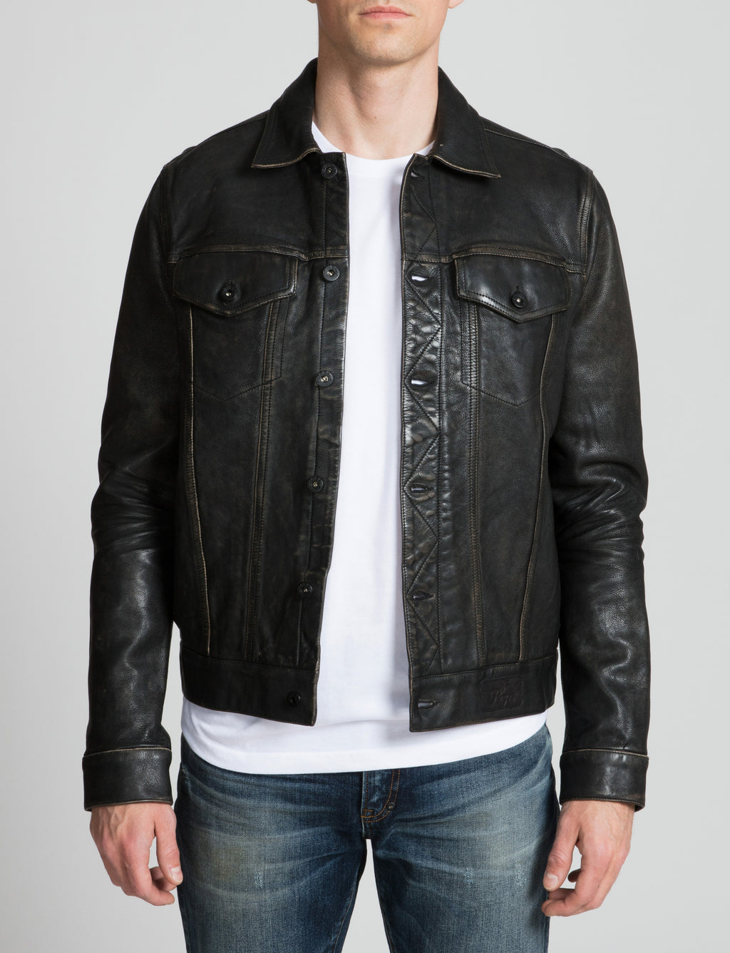 Prps - Leather Trucker - Jacket - Prps