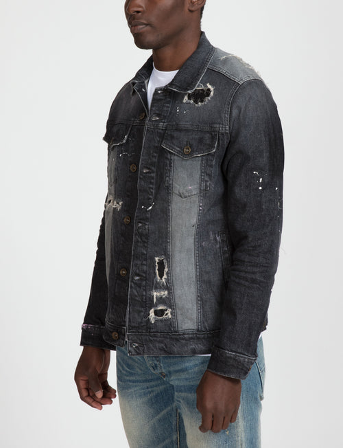 Prps - Prps x Jim Jones Two Tone Denim Jacket - Jacket - Prps