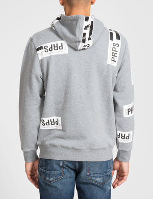 Prps - Prps Sticker Hoodie - Hoodies & Sweaters - Prps