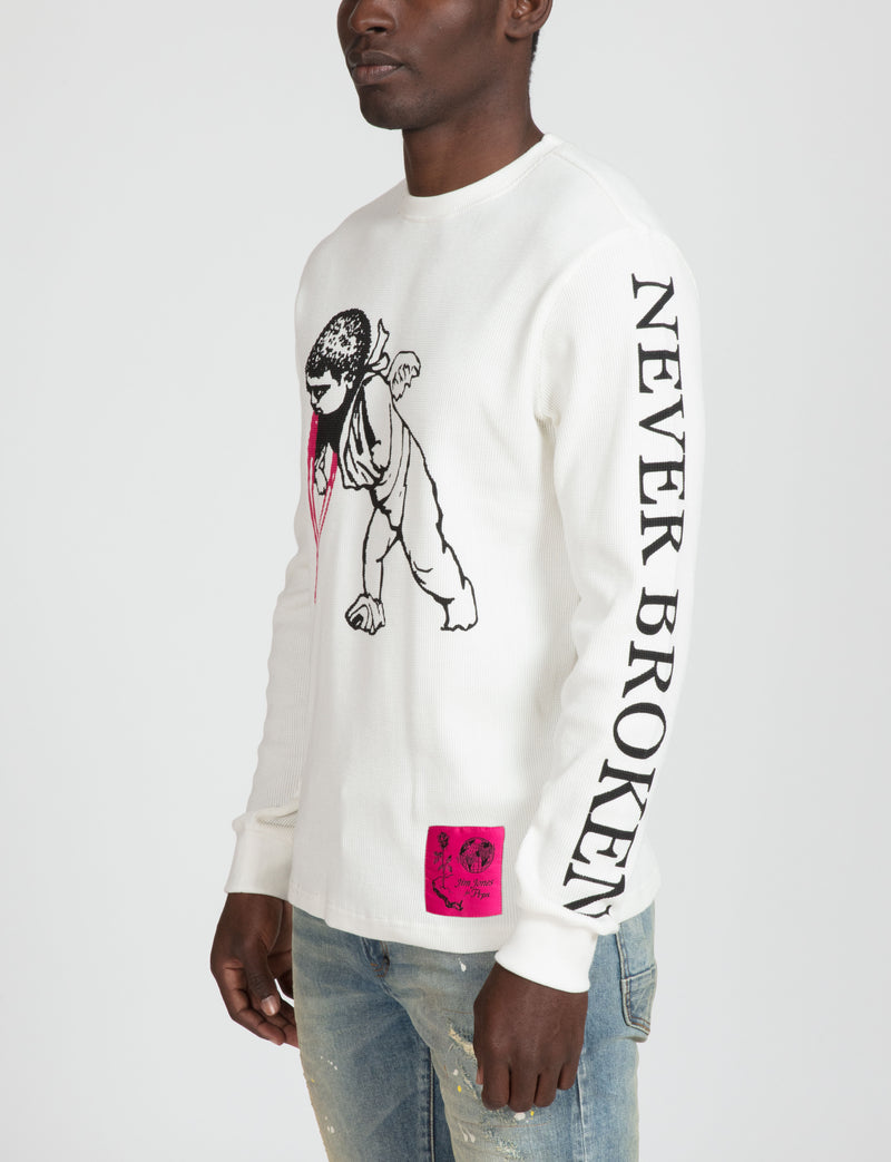 Prps - Prps x Jim Jones Never Broken LS Tee - Tee - Prps