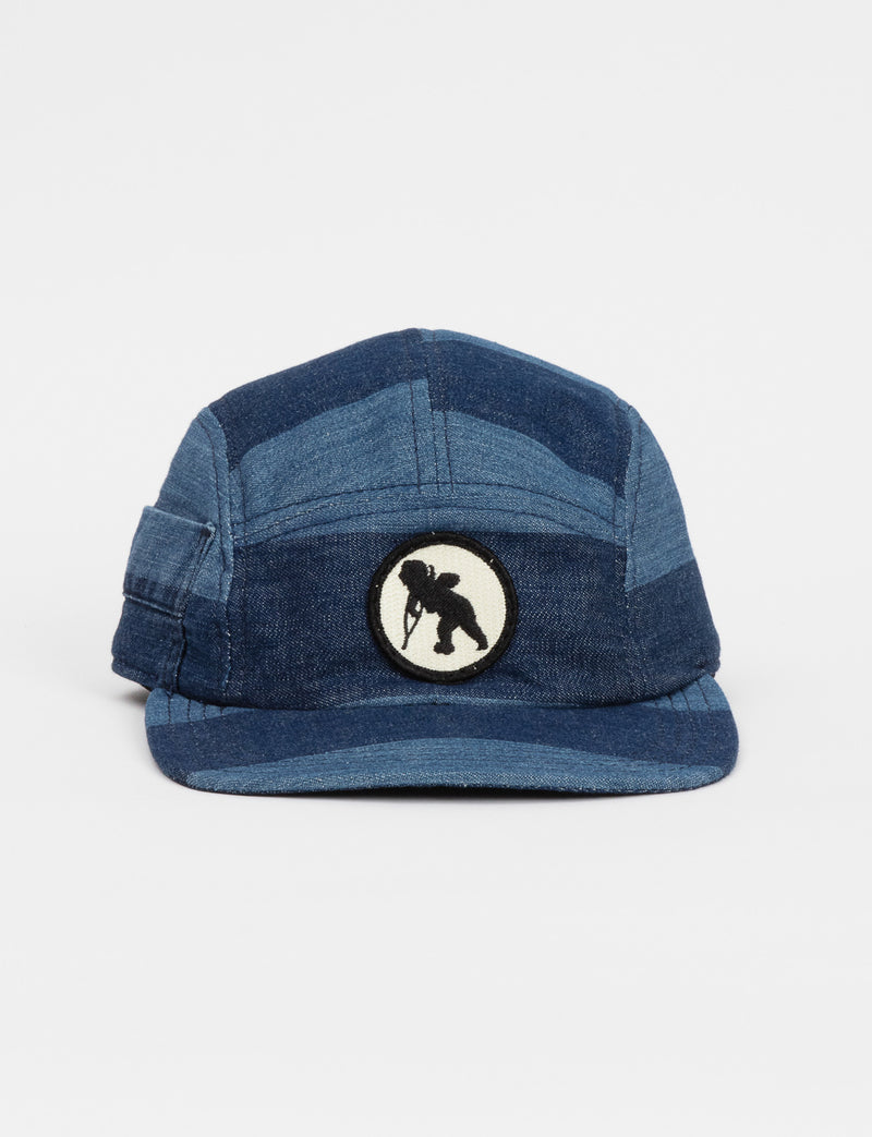 Prps - 2-Toned Denim Hat With Pocket - Hat - Prps