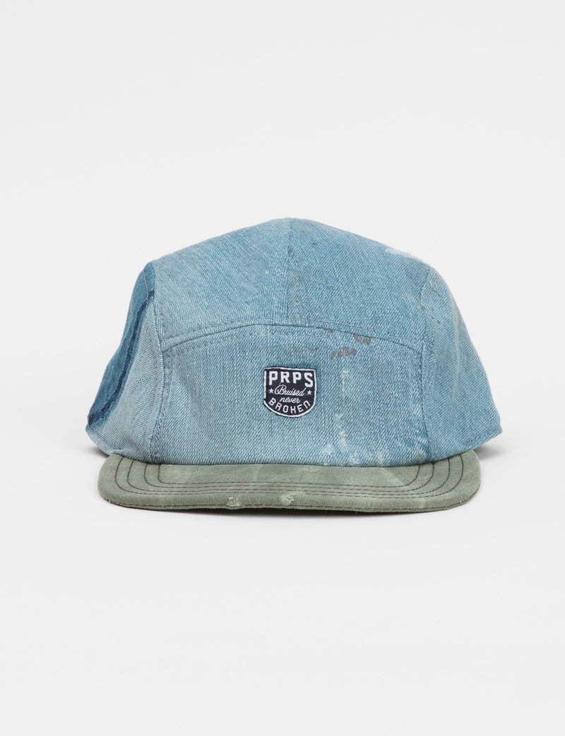 Prps - Twill & Denim Hat - Hat - Prps
