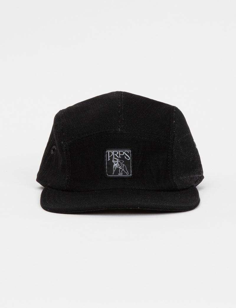 Prps - Black/Black Denim Hat - Hat - Prps