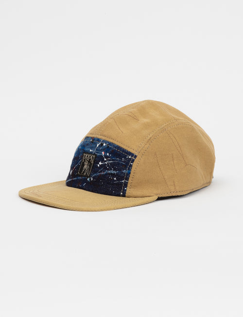 Prps - Khaki Japanese Twill/Paint Splatter Denim Hat - Hat - Prps