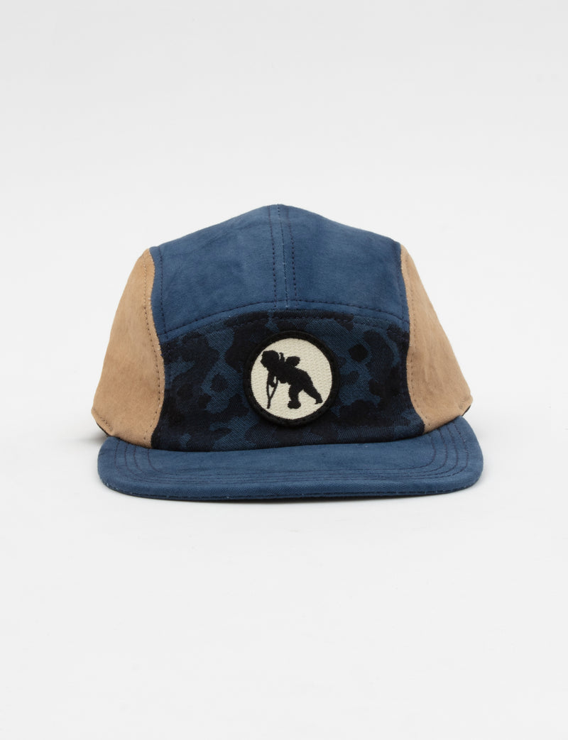 Prps - Japanese Twill & Blue Camo Hat - Hat - Prps