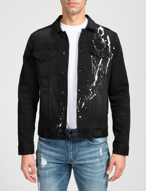 Prps - Paint Splatter Denim Jacket - Jacket - Prps