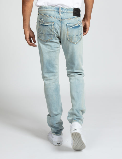Le Sabre Stretch - Selvedge Carmel