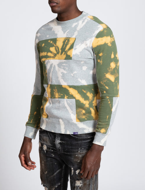 Paneled Pullover