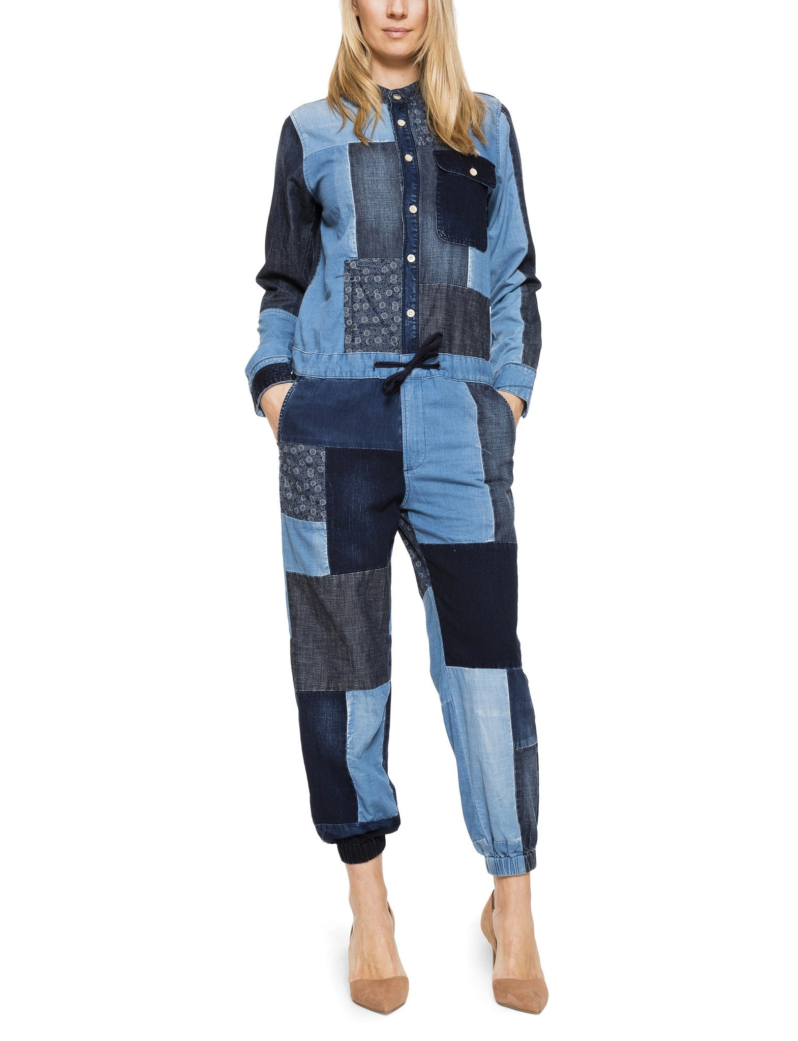 Patchwork Jumpsuit