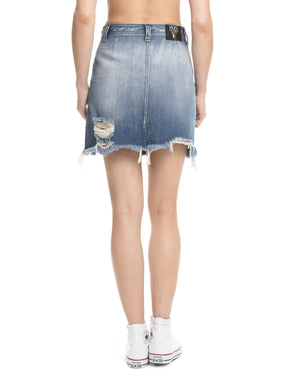 Prps | Two-Tone Mini Skirt - Shorts