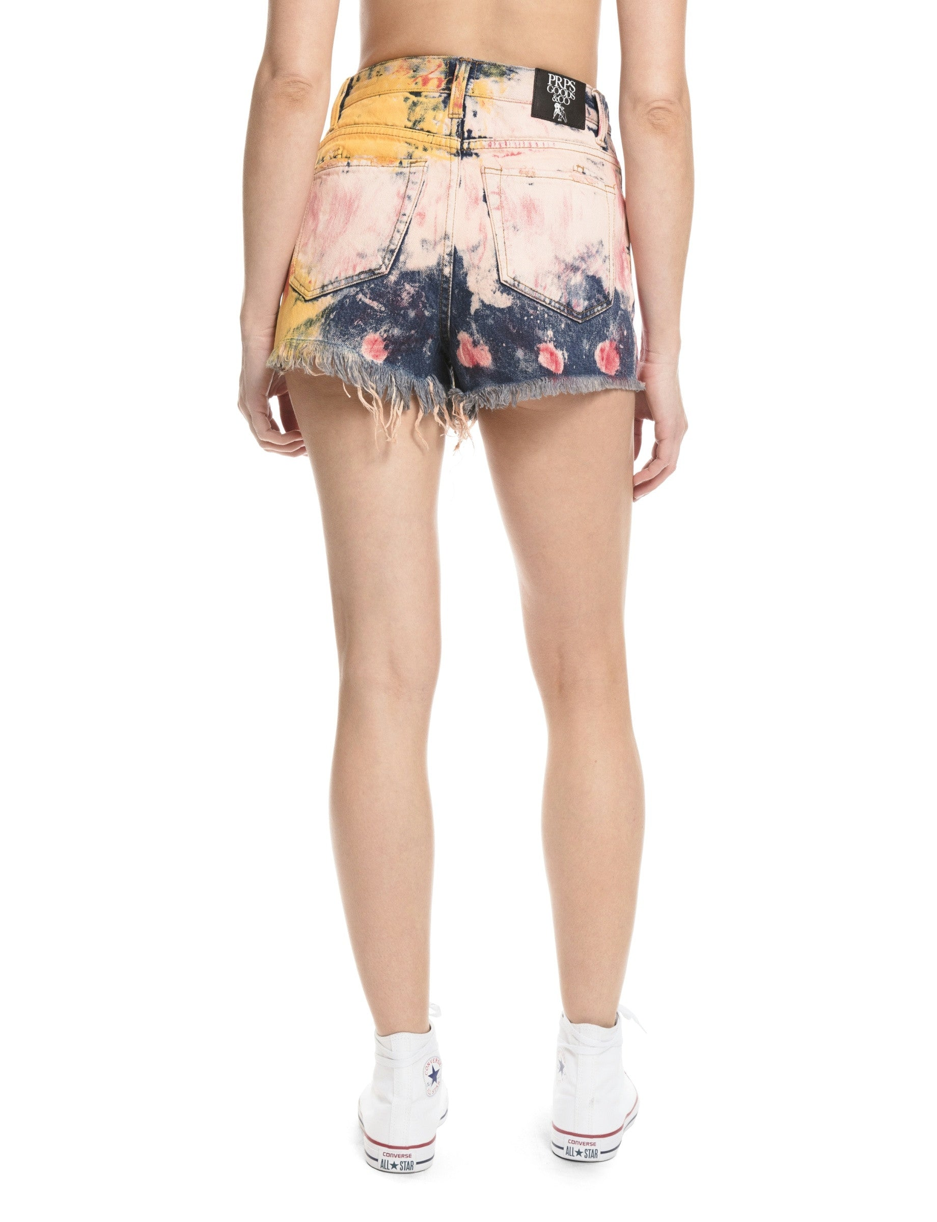 Painted Boyfriend Shorts