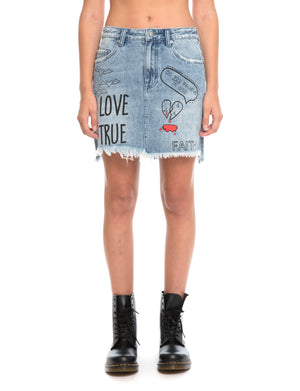 Prps | Love Note Mini Skirt - Shorts
