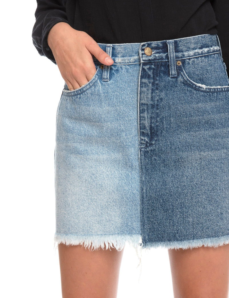Prps | Split Tone Mini Skirt - Shorts