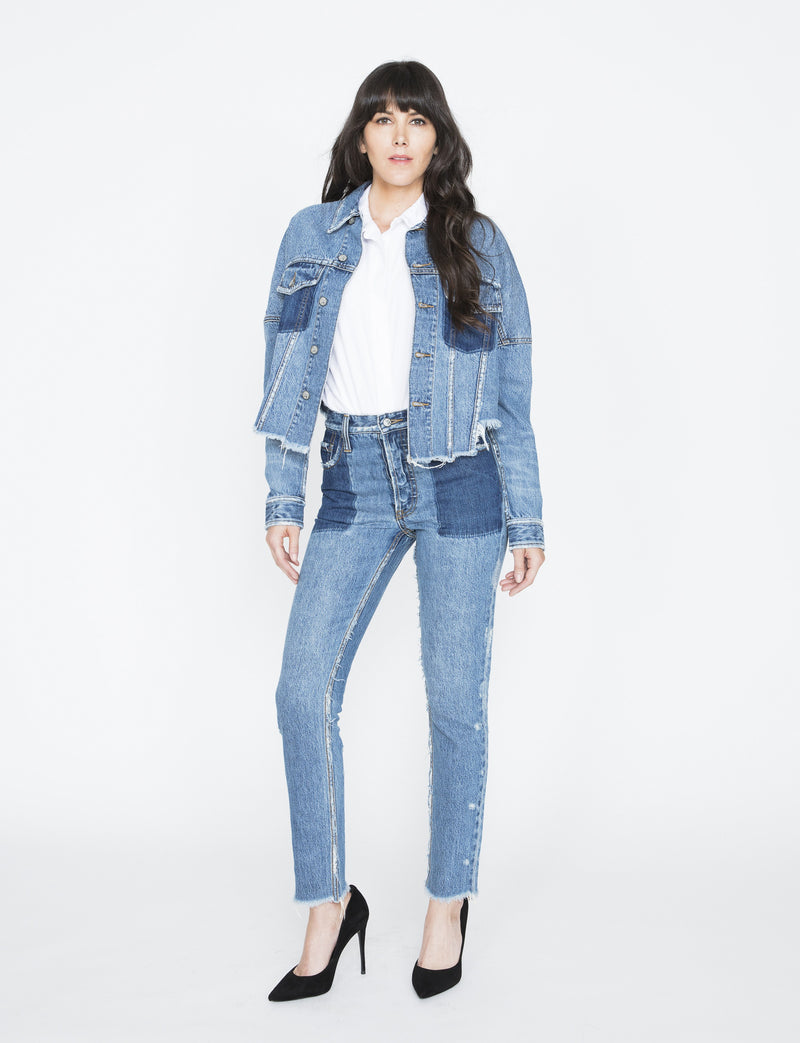 Prps - Cropped Denim Jacket - Jacket - Prps