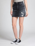Prps - Denim Mini With Back Slit - Skirts & Shorts - Prps