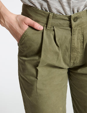 Double Pleat Chino