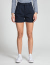 Double Pleat Chino Shorts