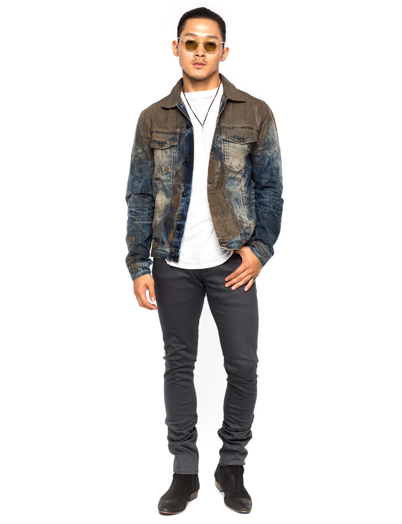 Prps | Mud Splatter Denim Jacket - Jacket