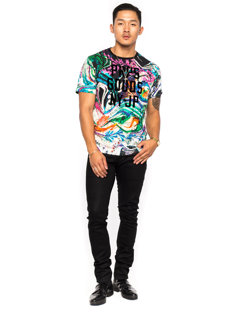 Prps - Allover Hawaiin Print Tee - Tee