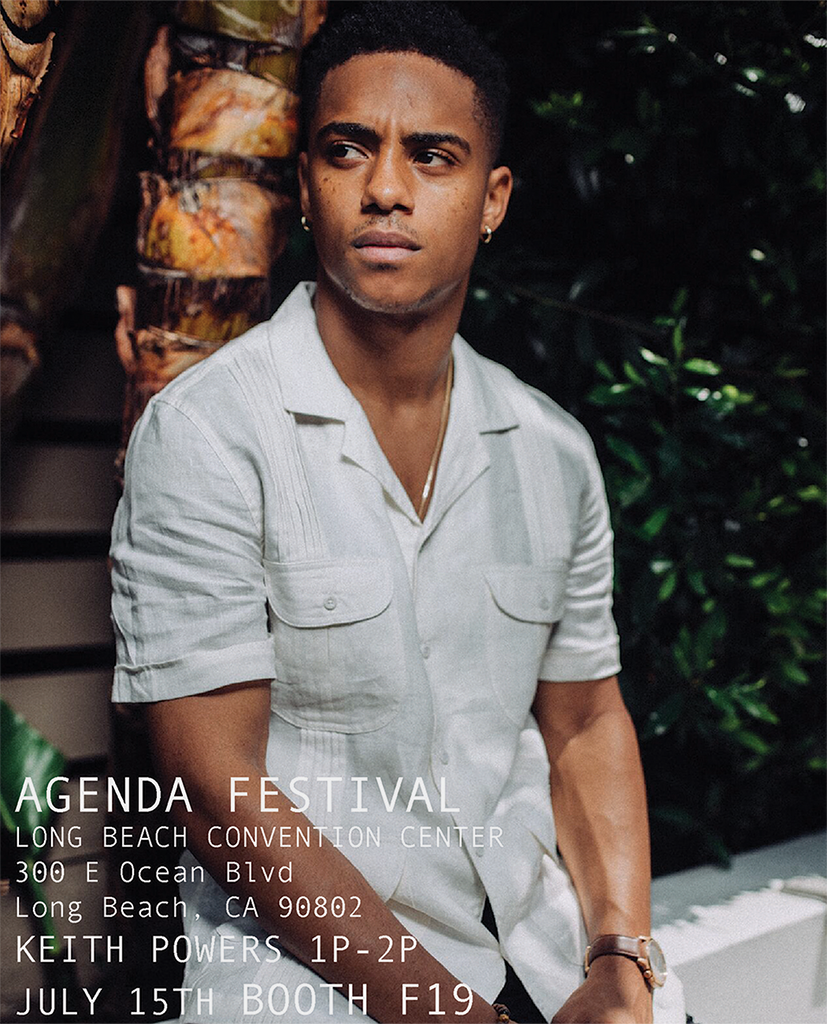 KEITH POWERS AT AGENDA FESTIVAL