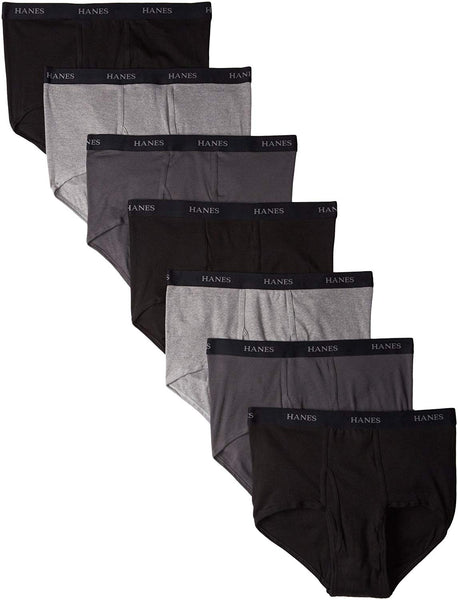 Hanes Ultimate Men's 7-Pack Full-Cut Pre-Shrunk Briefs