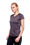 Beverly Hills Polo Club Women's Short-Sleeve Dry-Fit, Athletic Workout V-Neck Tee BHP-214V