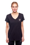 Beverly Hills Polo Club Women's Athletic V-neck T-shirt BHP-800X