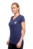 Beverly Hills Polo Club Women's Athletic V-neck T-shirt BHP-801