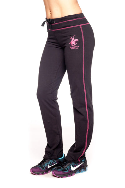 Beverly Hills Polo Club Women's Open Bottom Comfy Sweatpant BHP-810