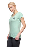 Beverly Hills Polo Club Women's Fashionable Athletic V-Neck Tshirt BHP-800TB