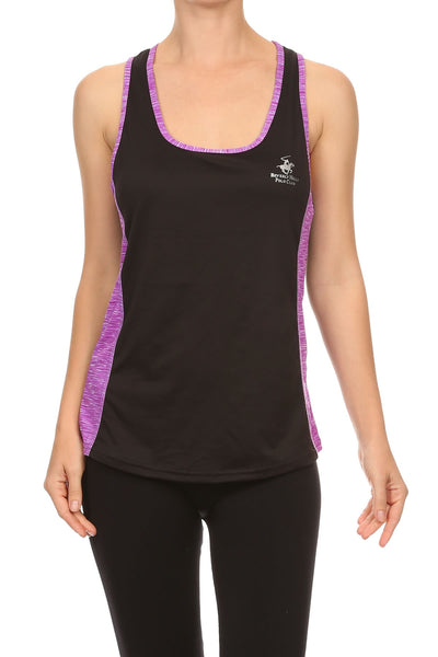 Beverly Hills Polo Club Women's Athletic Workout Tank Top BHP-202C